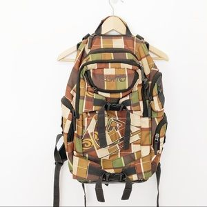 Large Quicksilver Outdoor Backpack Laptop Bag